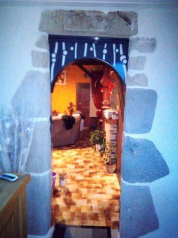 Tour de porte fer forgée Mauriac Cantal