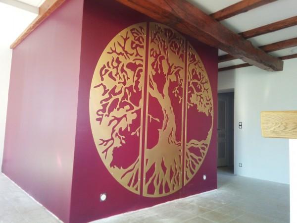 Bas relief décoration murale Mauriac