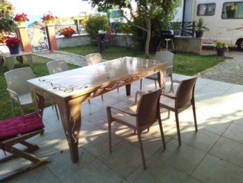 féronnerie Table de jardin mauriac